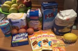 Příprava receptu Fantastický koláček jablíčka v oblacích, krok 1