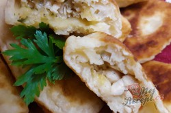 Příprava receptu Tvarohové lodičky plněné kuřecím masem, krok 1
