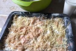 Příprava receptu Jablečný sypaný koláček s dětskou krupicí připraven za 5 minut, krok 4