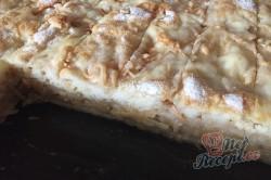 Příprava receptu Jablečný sypaný koláček s dětskou krupicí připraven za 5 minut, krok 8