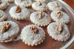 Příprava receptu Myslivecké knoflíky - vánoční ořechové cukrovíčko, krok 1