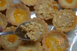 Příprava receptu Košíčky s ořechovou náplní, krok 6