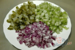 Příprava receptu Nejlepší bramborový salát našich babiček, krok 3