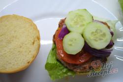 Příprava receptu Domácí hamburgery (nejlepší hamburgerové housky), krok 8