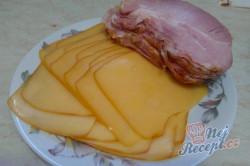 Příprava receptu Vepřové masíčko prokládané sýrem a uzeným, krok 3