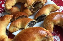 Příprava receptu Bratislavské rohlíky plněné mákem a ořechy, krok 4