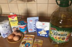 Příprava receptu Nejjemnější koláč ze zakysané smetany se šťavnatým krémem uvnitř, krok 1