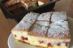 Příprava receptu Nejjemnější koláč ze zakysané smetany se šťavnatým krémem uvnitř, krok 11