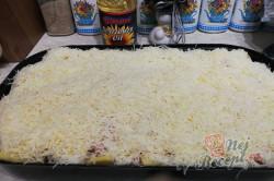 Příprava receptu Zapékané brambory se šunkou a sýrem, krok 3