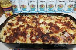 Příprava receptu Zapékané brambory se šunkou a sýrem, krok 5