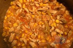 Příprava receptu Kuřecí prsa v bramboráku, krok 5