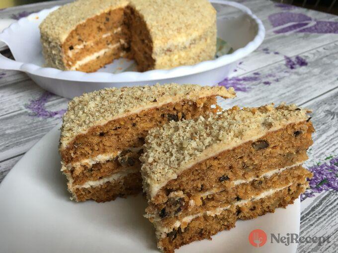 Recept Mrkvový dort ZAJÍČEK