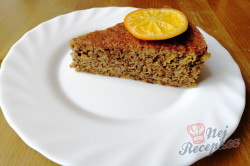 Příprava receptu Šťavnatý dort s mandarinkami bez mouky, krok 1