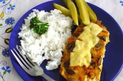 Příprava receptu Zapékaná kuřecí prsa s peřinkou, krok 5