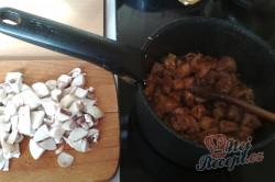 Příprava receptu Kapucínský guláš, krok 1