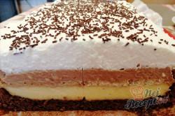 Příprava receptu Slavnostní krémové řezy se sušenkami, krok 1