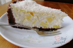 Příprava receptu Fenomenální kokosový dort s ananasem, krok 3