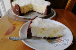 Příprava receptu Fenomenální kokosový dort s ananasem, krok 2