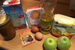 Příprava receptu Jablečno perníková bábovka, krok 1