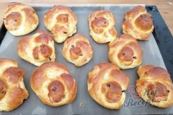Příprava receptu Velikonoční jidáše - kuřátka, krok 4