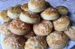 Příprava receptu Šumavské pagáče ze smetany bez kynutí, krok 14