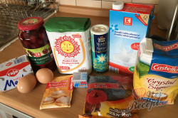 Příprava receptu Makový závin s višněmi, krok 1