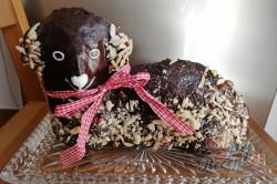 Příprava receptu Čokoládový velikonoční beránek, krok 1