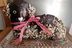 Příprava receptu Čokoládový velikonoční beránek, krok 2