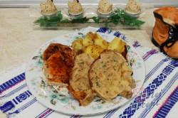 Příprava receptu Plněné kuře s nádivkou, krok 4