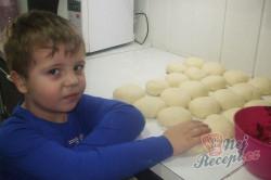 Příprava receptu Povidlové buchty/knedlíky na páře, krok 5