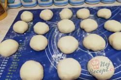 Příprava receptu Povidlové buchty/knedlíky na páře, krok 2