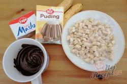 Příprava receptu Čokoládový dort s kousky banánů, krok 1