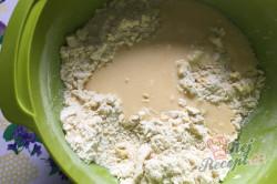 Příprava receptu Hrnkový křehký marmeládový koláček, krok 5