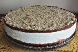Příprava receptu Fenomenální nugátový cheesecake, krok 3
