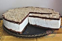 Příprava receptu Fenomenální nugátový cheesecake, krok 4