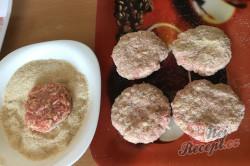Příprava receptu Mletý řízek se sýrem, krok 4