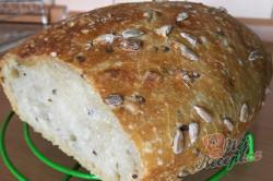 Příprava receptu Hrnkový chléb téměř bez práce, krok 6