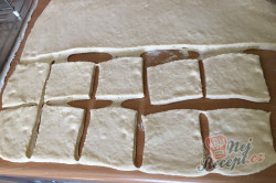 Příprava receptu Pařené nutelové buchty, krok 4