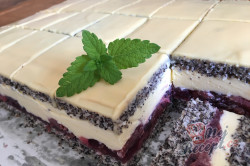 Příprava receptu Luxusní zákusek ,,cherry dáma,,, krok 14