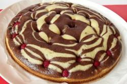 Příprava receptu Mramorový dort s malinami, krok 1
