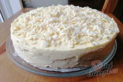 Příprava receptu Nepečený dort Ruská zmrzlina, krok 4