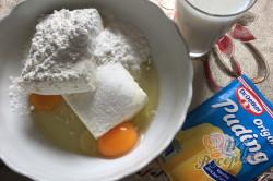 Příprava receptu Dvoubarevný tvarohovo-meruňkový koláč, krok 4