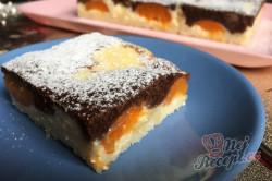 Příprava receptu Dvoubarevný tvarohovo-meruňkový koláč, krok 8