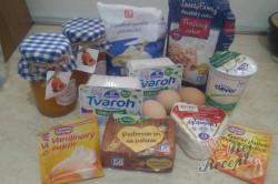 Příprava receptu Tradiční meruňkový mřížkovaný koláč s tvarohem, krok 1