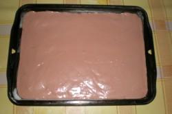 Příprava receptu Banánové řezy s čokoládovým krémem, krok 3