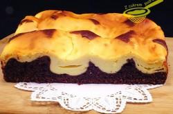 Příprava receptu Propadávaný koláček s tvarohem, krok 3