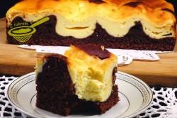 Příprava receptu Propadávaný koláček s tvarohem, krok 4