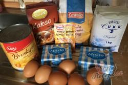 Příprava receptu Máslový broskvový koláček, krok 1