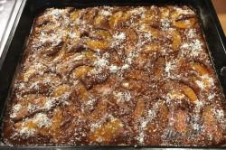 Příprava receptu Máslový broskvový koláček, krok 9
