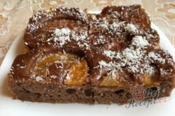 Příprava receptu Máslový broskvový koláček, krok 10